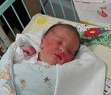 Paní Michaele Brudné z Karviné se 1. listopadu narodila dcerka Gabrielka. Po porodu holčička vážila 3930 g a měřila 51 cm.
