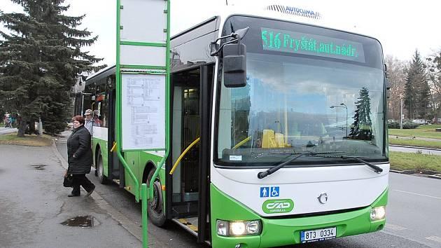 Autobus MHD.