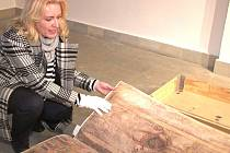 Kopie známé a mystické středověké knihy Codex Gigas, zvaná také Ďáblova bible.