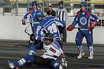 Hokejbalisté HbK by rádi hráli o přední příčky v I. lize.
