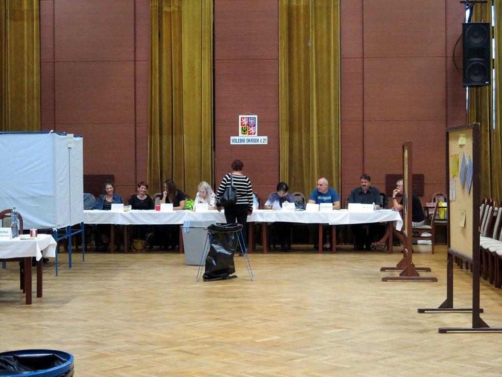Senátní volby v Havířově, druhé kolo, říjen 2018.