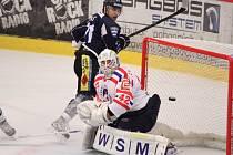 Jediný puk, který se dostal za záda třebíčského gólmana Vejmelky, rozhodl o výhře Havířova.