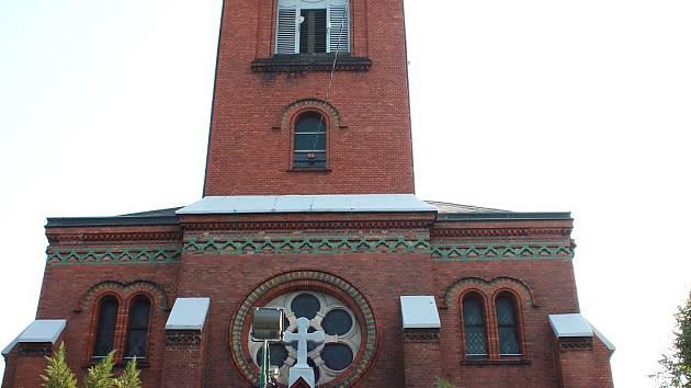 Kostel svaté Máří Magdalény ve Stonavě.