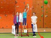 Vyhlašování vítězů nejmladší kategorie.