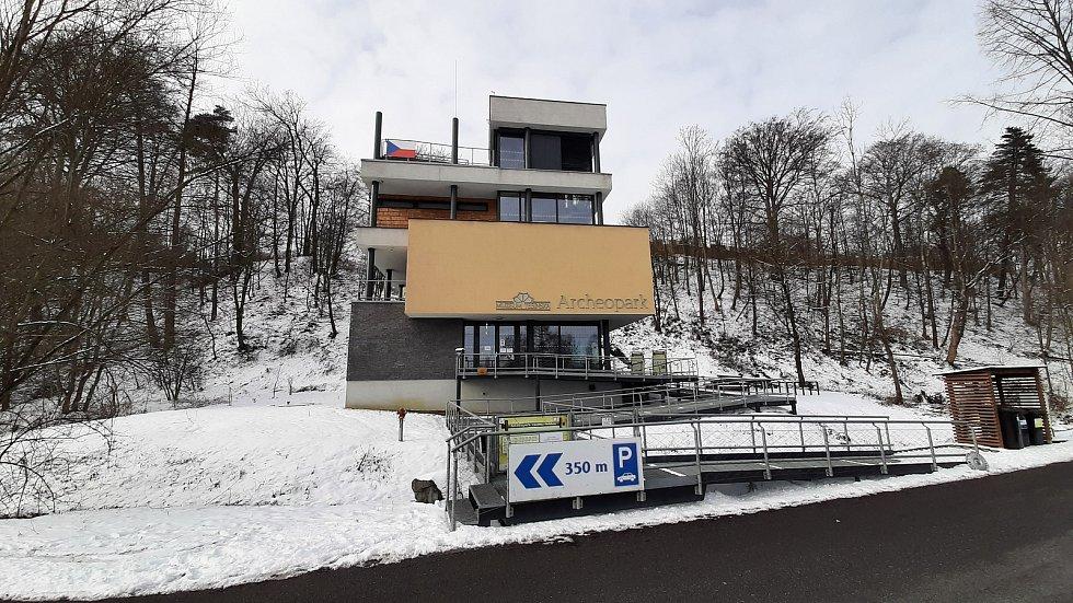 Chotěbuz,  Podobora Archeopark, nová budova