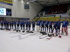 Hokejisté Havířova si po delší době dopřáli radost z vítězství.