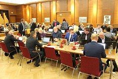 Jednání havířovských zastupitelů.