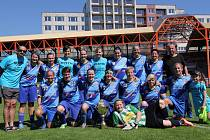 Po utkání mohly vypuknout oficiální oslavy vítězství v soutěži.