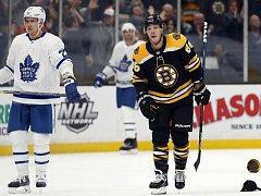 David Pastrňák prožívá v NHL vydařené období.