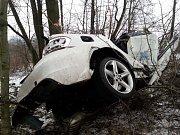 Nehoda na Orlovské ulici