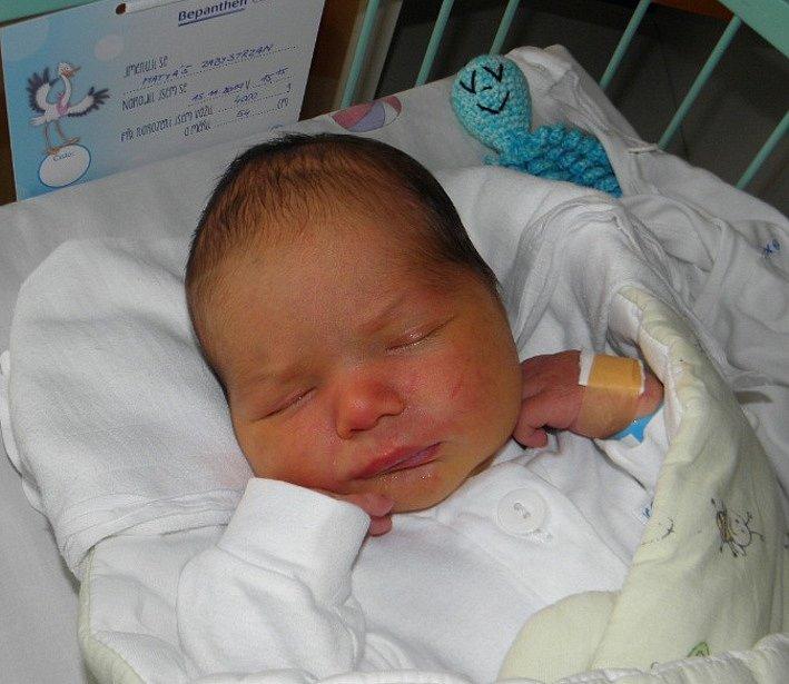 Matyášek se narodil 15. listopadu mamince Markétě Zabystrzanové z Českého Těšína. Po porodu miminko vážilo 4000 g a měřilo 54 cm.
