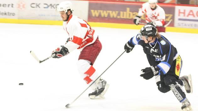 Opavští hokejsité v Havířově překvapili, ale na výhru nedosáhli.