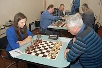 Anna Kubicka proti Litovli získala důležitý bod, když zvítězila nad Petrem Mohaplem.