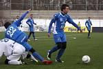Z utkání Baník Ostrava - MFK Frýdek-Místek 2:1.