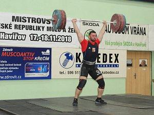 V supertěžké váze vyhrál havířovský závodník Patrik Krywult.