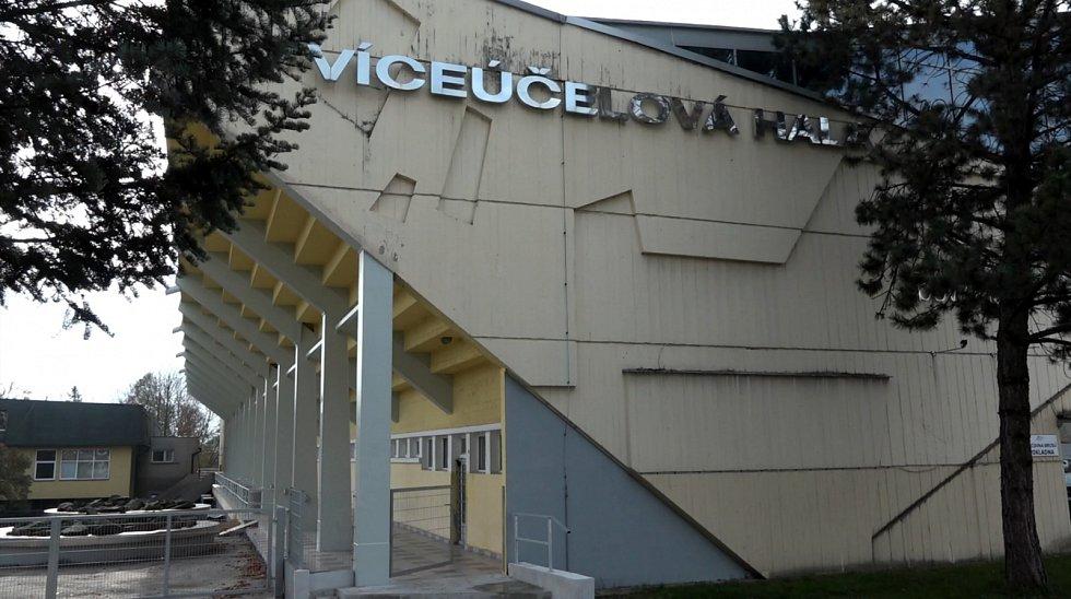 Zimní stadion v Havířově.