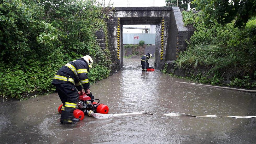 Zásah českotěšínských hasičů 23. 5. 2019.