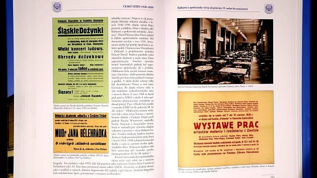 Nová kniha s názvem Český Těšín 1920 - 2020 mapuje 100 let města.