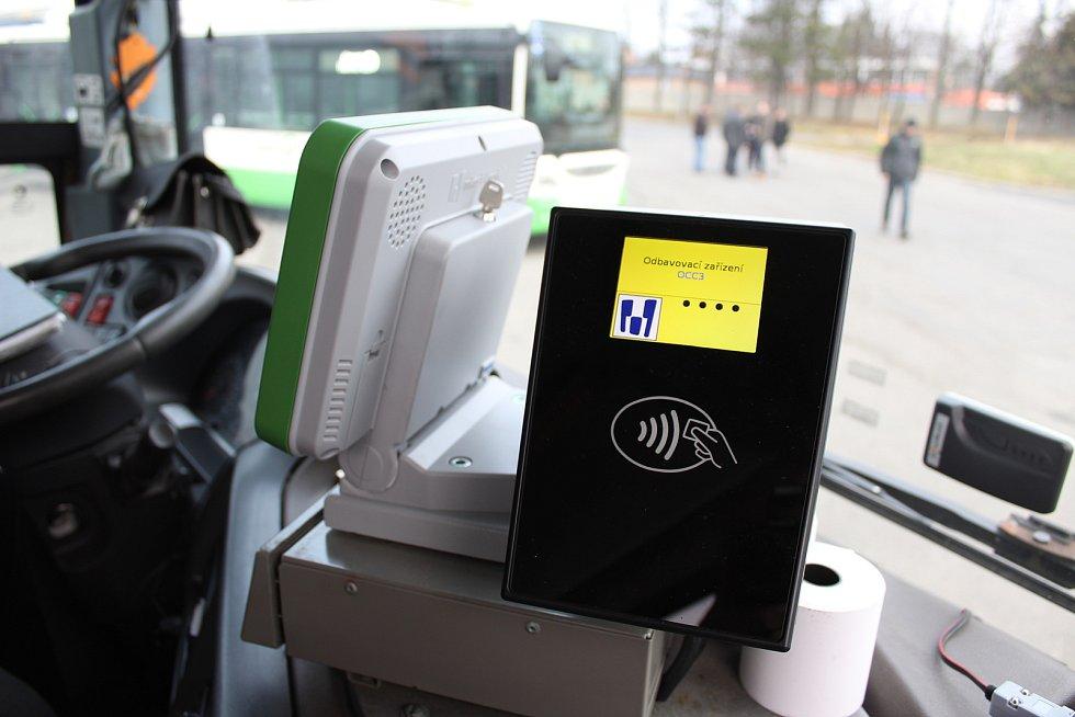 Autobusy v Havířově.