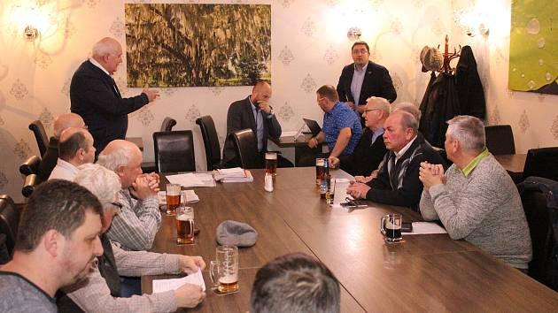 Jednání občanské komise městské části Životice se zástupci vedení Havířova k ohlášenému osamostatnění.