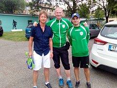 Ivan Chocholáček, Václav Harbáček a Pavel Šimčík patří k vůdčím postavám klubu.