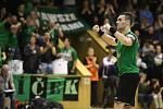 Házenkáři Karviné (v zeleném) doma prohráli a stav finálové série je opět nerozhodný 2:2.