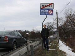Starosta Těrlicka se připojil k protestní akci.