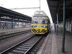 Provoz v bohumínské železniční stanici ochromil požár v Ústředním stavědle.