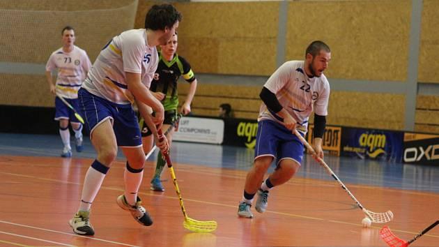 Florbalisté Slovanu Havířov a Petrovic hrají o záchranu v první lize.