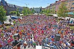Vytvoření nového rekordu v Bohumíně.
