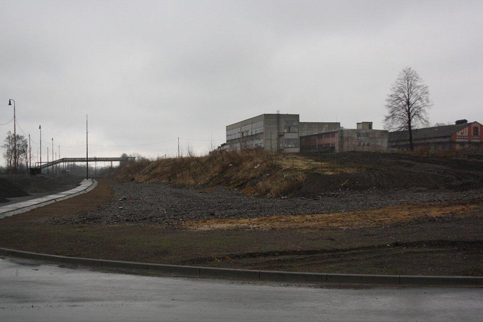 Průmyslová zóna Dukla v Havířově-Dolní Suché.