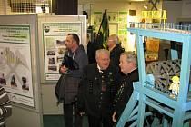 Výstava o činnosti Klubu přátel hornického muzea v Ostravě.