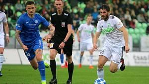 Fotbal: Karviná - Liberec