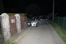 Nehoda v Dětmarovicích.