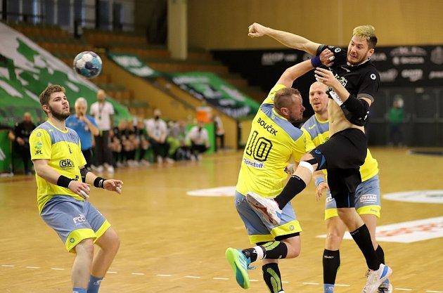 Karvinští házenkáři (včerném) nestačili vúvodním semifinále na Lovosice.