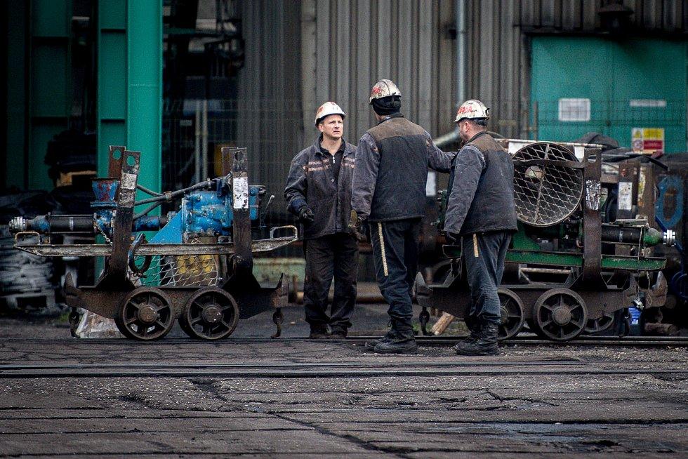 Důl ČSM na Karvinsku po neštěstí.