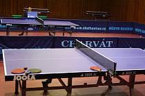 Stolní tenisté ukončili základní část. Příští týden se rozehraje play-off.