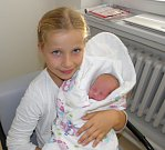 Elen Kosturíková se narodila 23. září mamince Michaele Krkoškové z Karviné. Po porodu holčička vážila 2600 g a měřila 46 cm. Doma se na miminko těší sestra Simonka.