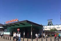 Polský důl Zofiówka.