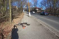 V havířově došlo k nehodě, při níž byl zraněn 70letý cyklista. Policie hledá svědky nehody.