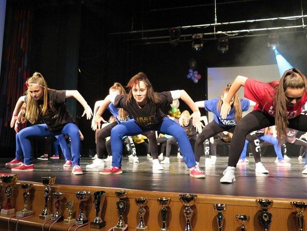 Akademie havířovské taneční skupiny Limit Dance Corporation.