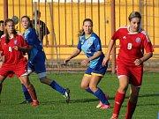 Havířovské fotbalistky v poháru nezklamaly ani přes porážku od Olomouce.