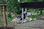Park Krásná rokle v Havířově-Šumbarku.