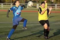 Havířovské fotbalistky kralují soutěži.