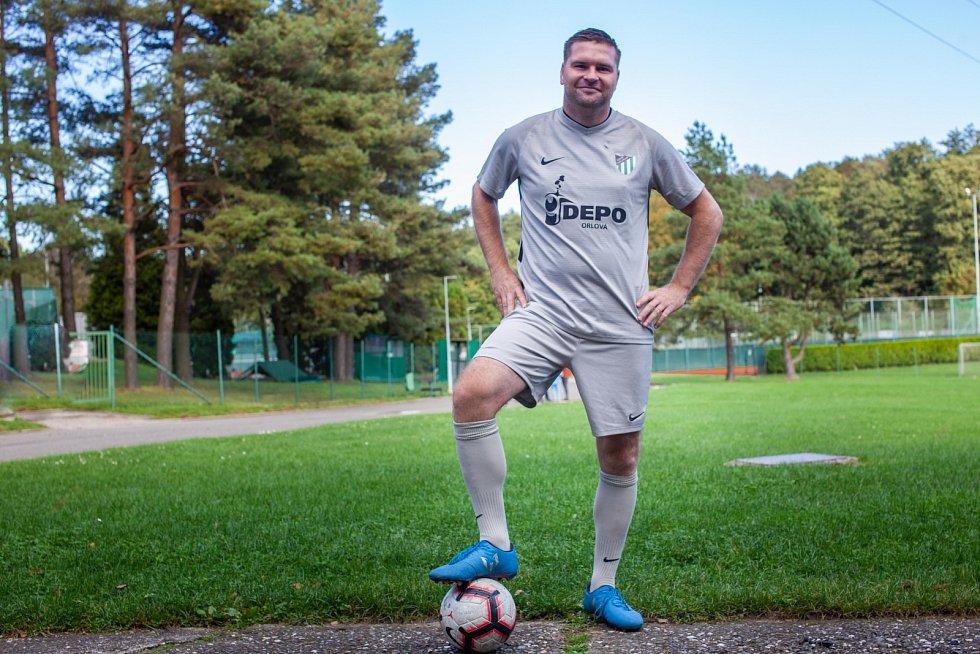 Jarmil Kopel zůstal fotbalu věrný i po úrazu na šachtě.