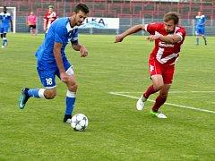 Havířovští fotbalisté si poradili se Vsetínem a dál stíhají vedoucí Ústí.