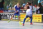 Florbalový turnaj dětí v Karviné.