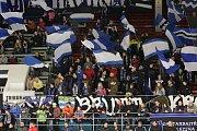 Havířovští hráči (v modrém) si doma poradili s Litoměřicemi.