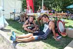 Přátelská a příjemná atmosféra a vynikající sportovní výkony na trati. Takový byl letošní Albrechtický triatlon, kde krom dospělých startovaly i dětské kategorie.