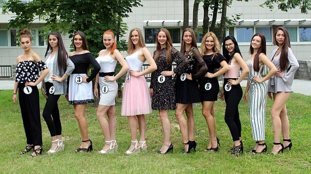 Finalistky Miss Reneta 2018.